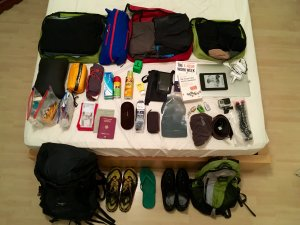 full packing list picture