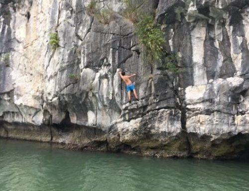 Deep Water Solo Climbing & Cat Ba National Park