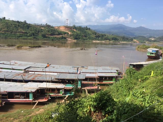 Mekong River Boats