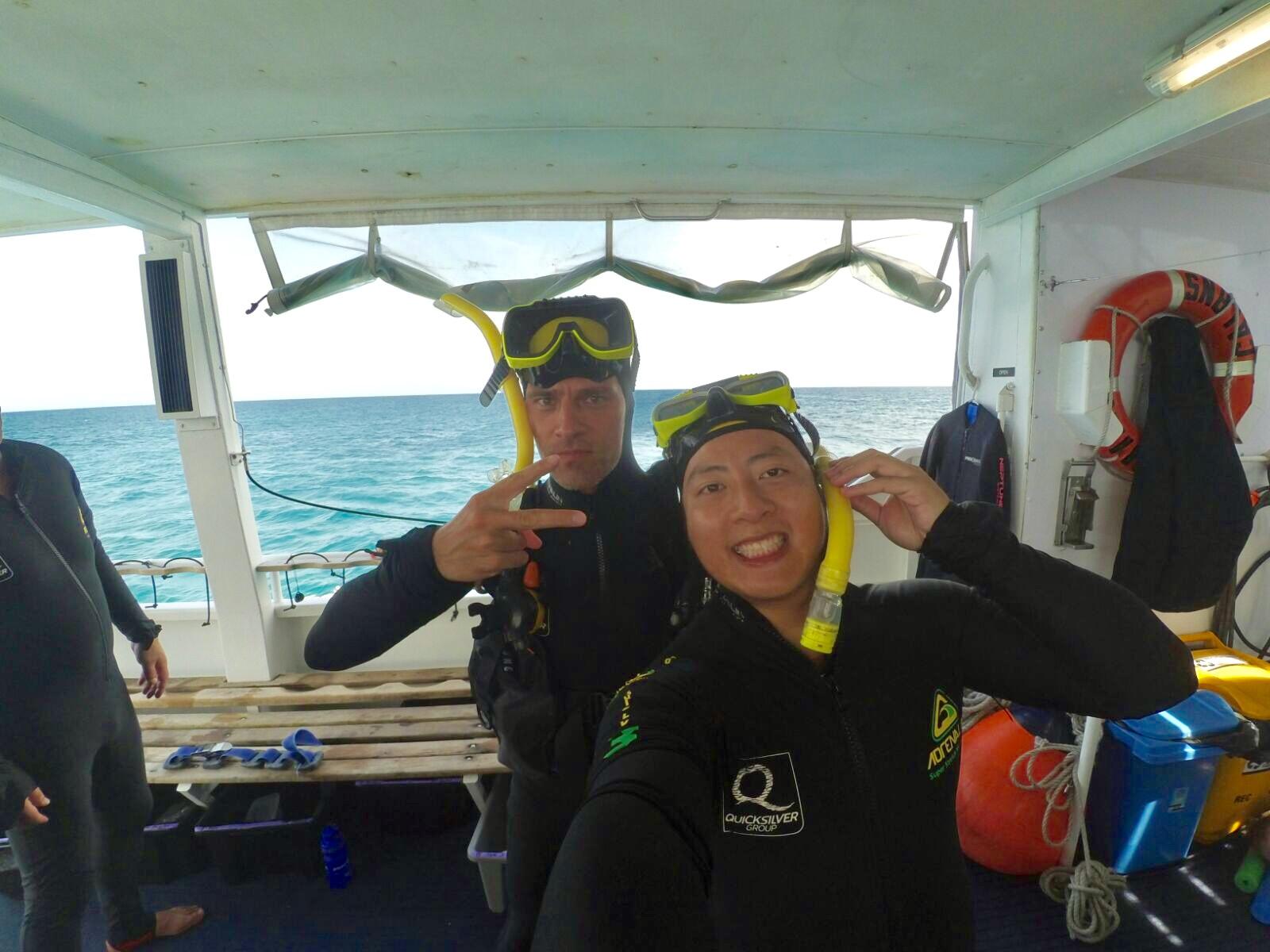 Willis & Thore Dive buddies