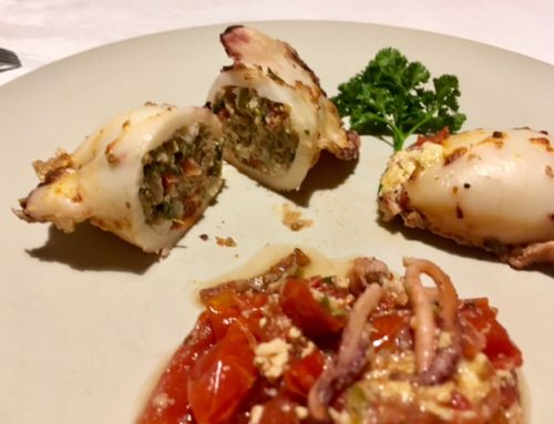 Italian Calamari Ripieni al Forno