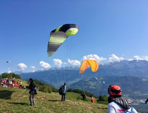 My first time Paragliding in France & how I almost died