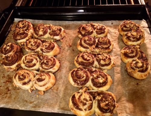 Nutella Cinnamon Nut Rolls